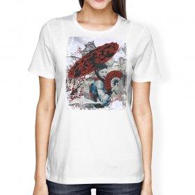 """GEISHA"" Gym Tee/ Martial Arts Tee/ Casual T-Shirt"