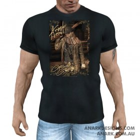 OUTLAW Unisex Western Themed T-Shirt