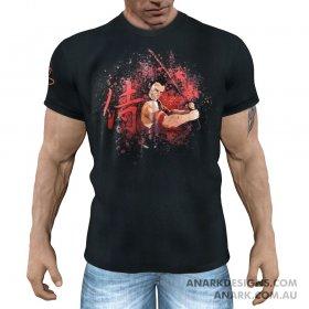 DRAGONSLAYER Samurai Gym Tee/ Martial Arts Tee/ Casual T-Shirt