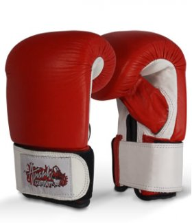Leather Focus Boxing Gloves/ Bag Mitts