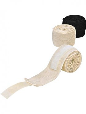 500cm Cotton Boxing Hand Wraps - Non-Elastic