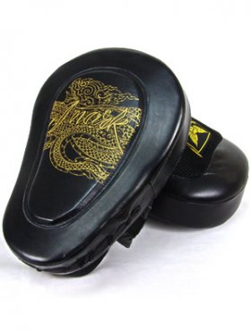 Gel + Leather Elite Focus (Hook-and-Jab) Pads