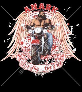 Biker Tee/ Bodybuilding T-Shirt