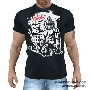 Barbarian Fight Tee (RESPAWN) - Black