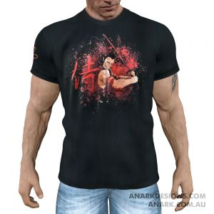 """DRAGONSLAYER"" Samurai Gym Tee/ Martial Arts Tee/ Casual T-Shirt"
