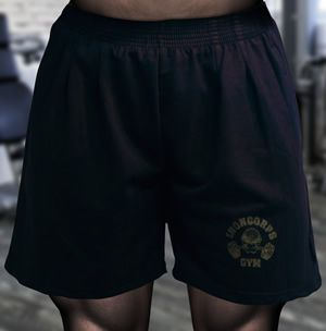 Men's Loose Fit Gym Shorts (Terry Fleece)