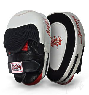 Gel + Leather Focus (Hook-and-Jab) Pads