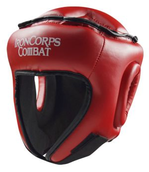 Open-Face Martial Arts Headguard - IRONCORPS® Clubline
