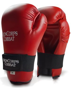Martial Arts Open Palm Sparring Gloves