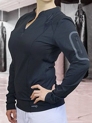 Ladies' Long-Sleeved Workout Shirt