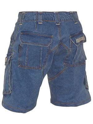 Men's Denim Cargo Shorts