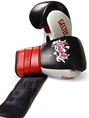 Boxing Training Gloves, Genuine Cowhide Leather With Gel - ANARK® Raptor
