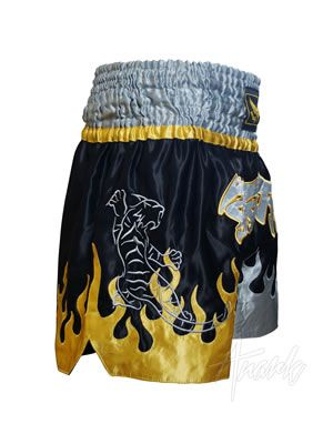 Satin Muay Thai Shorts (Thai Tiger)